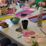 papieren bloemen workshop workshops events vrijgezellenfeestje