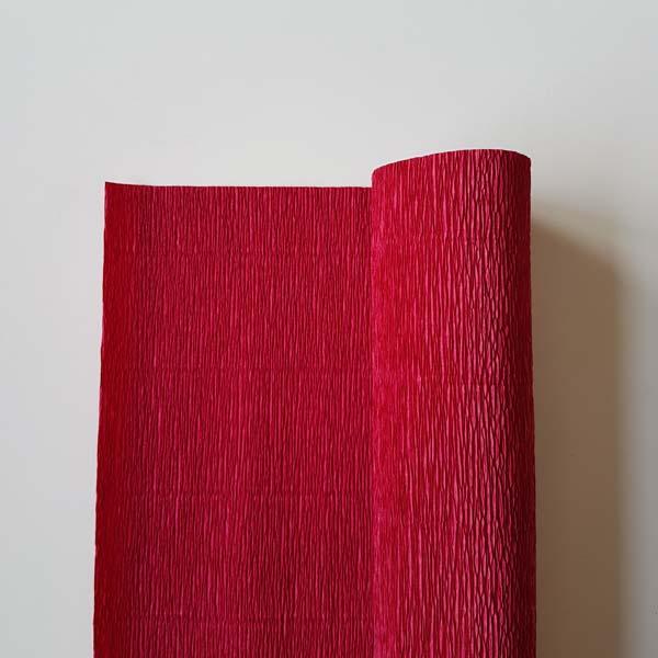 florist crêpepapier 180 grams 586 carmino red