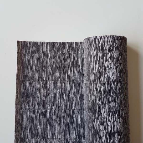 florist crêpepapier 180 grams 605 gray and gray