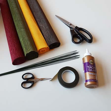 herfstbladeren-van-crêpepapier-diy-tutorial-benodigdheden