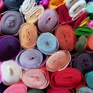Crêpe Surprise-restanten-papier-rollen-allerlei-kleuren