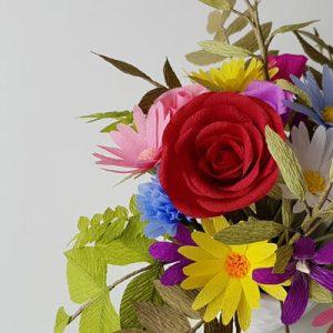 Workshop papieren bloemen maken Rotterdam