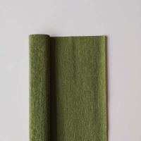 90 grams crêpepapier - 366 - Olive Green by Tiffanie Turner