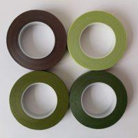 bloementape mix groen bruin 2