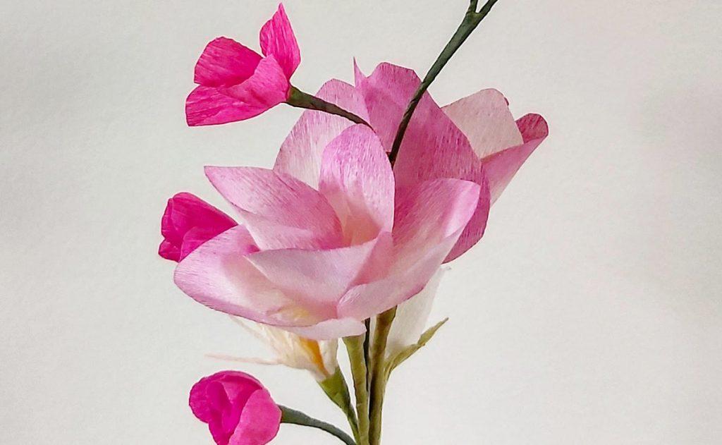 moederdag workshop-papieren-bloemen-maken