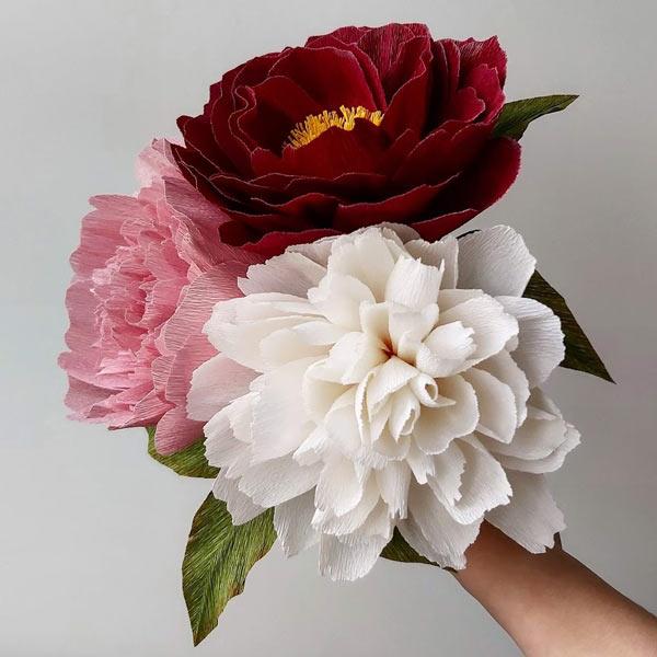 voorbeelden-papieren-bloemen-pioenrozen-van-crêpepapier