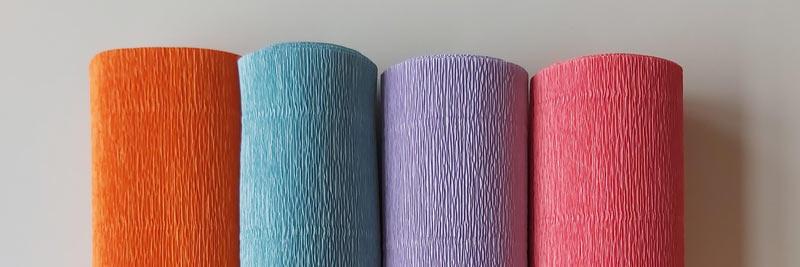 florist-crêpepapier-oranje-blauw-lila-roze