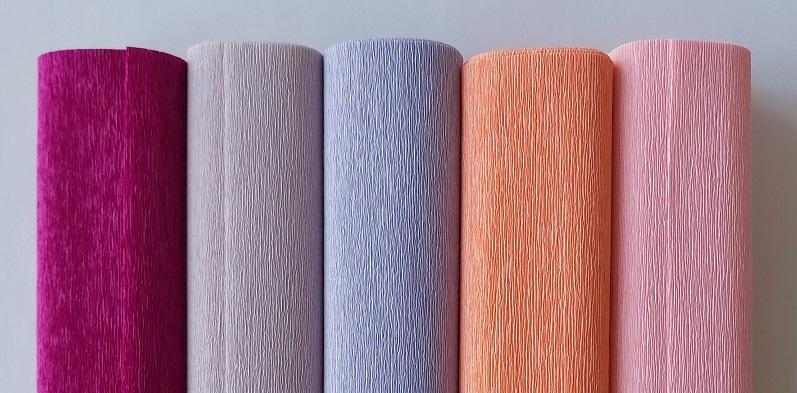 nieuwe kleuren 90 grams crêpepapier 376 378 380 382 384