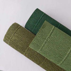 combipack florist 180 grams crêpepapier Leafy Greens 2