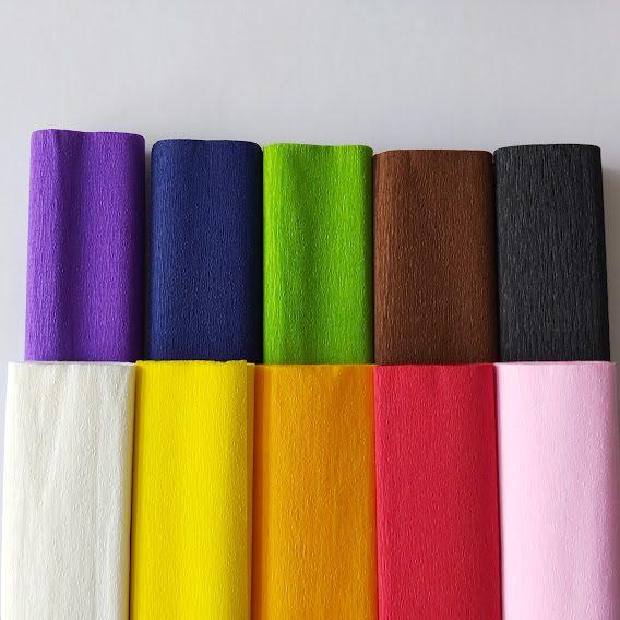 combipack 40 grams crêpepapier 10 kleuren-2