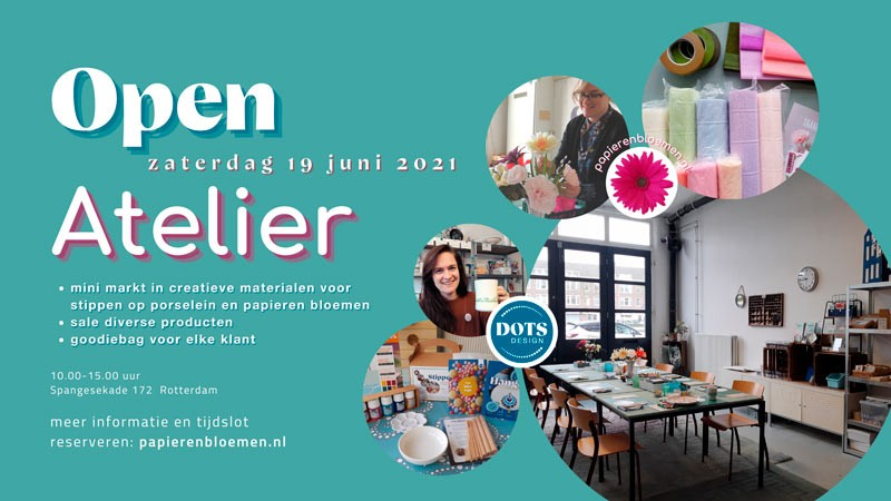 open atelier 21 juni